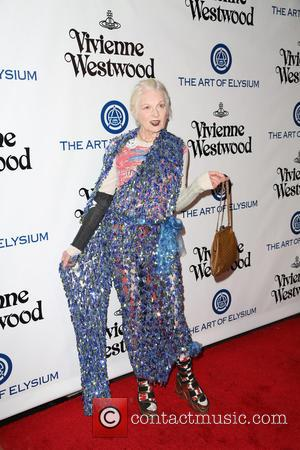 Vivienne Westwood - The Art of Elysium presents Vivienne Westwood and Andreas Kronthaler 2016 HEAVEN Gala - Arrivals at 3LABS...