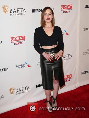 Emilia Clarke - BAFTA Los Angeles Awards Season Tea at The Four Season Los Angeles - Arrivals at The Four...