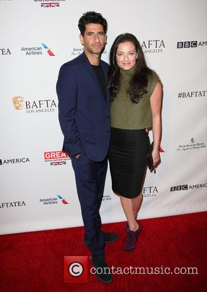 Lara Pulver and Raza Jaffrey