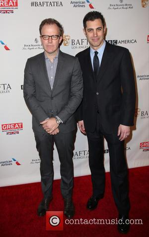 Tom McCarthy , Josh Singer - BAFTA Los Angeles Awards Season Tea at The Four Season Los Angeles - Arrivals...