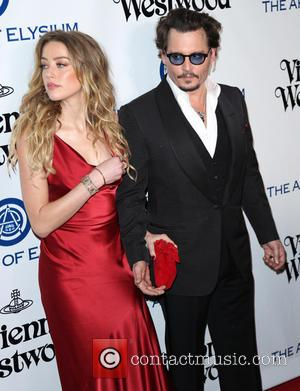 Johnny Depp , Amber Heard - The Art of Elysium presents Vivienne Westwood & Andreas Kronthaler's 2016 HEAVEN Gala -...