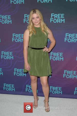 Sasha Pieterse - Disney/ABC Winter TCA Tour at the Langham Huntington Hotel - Arrivals at Langham Hotel - Pasadena, CA,...