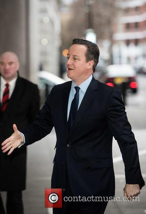 Prime Minister David Cameron - Andrew Marr Show Arrivals at the BBC Broadcasting House. - London, United Kingdom - Sunday...