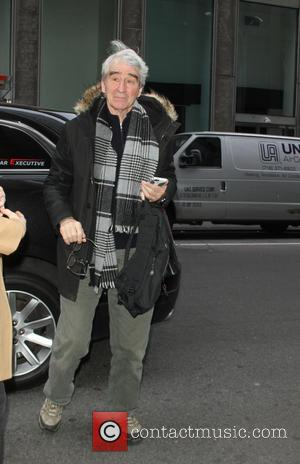 Sam Waterston - Celebrities at SiriusXM to talk about their new movie 'Anesthesia' - New York City, New York, United...