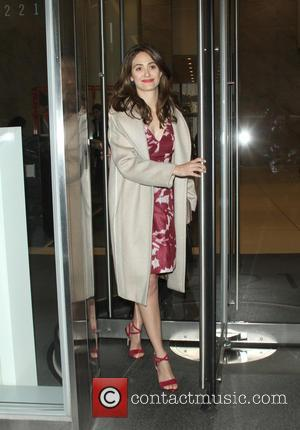 Emmy Rossum - Emmy Rossum at  SiriusXM to talk about her new showtime series 'Shameless' - New York City,...