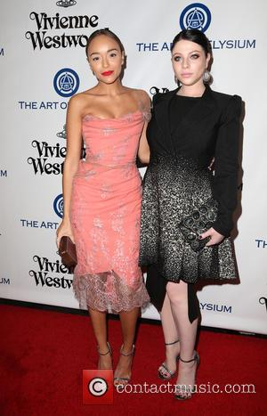 Ashley Madekwe and Michelle Trachtenberg