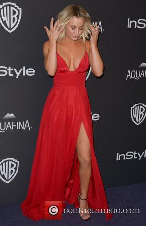 Kaley Cuoco - InStyle/Warner Bros Golden Globes after party held at the Beverly Hilton Hotel - Arrivals at Beverly Hilton...