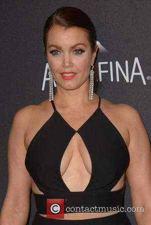 Bellamy Young - InStyle/Warner Bros Golden Globes after party held at the Beverly Hilton Hotel - Arrivals at Beverly Hilton...