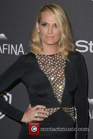 Molly Sims - InStyle and Warner Bros 73rd Annual Golden Globes Post-Party at the Beverly Hilton Hotel at Beverly Hilton...