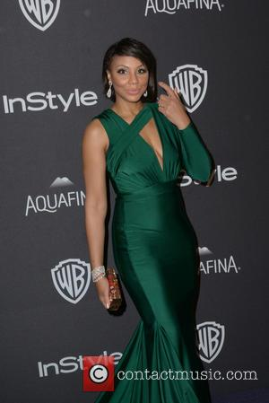 Tamar Braxton - InStyle and Warner Bros 73rd Annual Golden Globes Post-Party at the Beverly Hilton Hotel on January 10,...