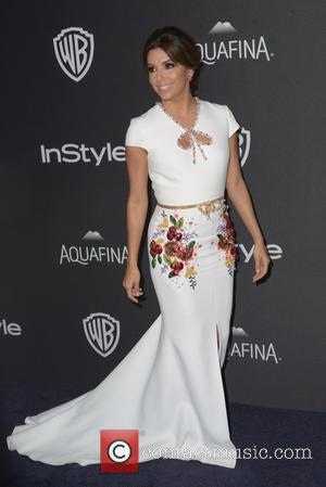 Eva Longoria - InStyle and Warner Bros 73rd Annual Golden Globes Post-Party at the Beverly Hilton Hotel on January 10,...