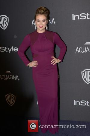 Alyssa Milano - InStyle and Warner Bros 73rd Annual Golden Globes Post-Party at the Beverly Hilton Hotel at Beverly Hilton...