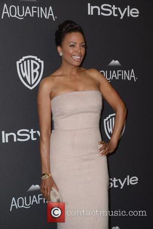 Aisha Tyler - InStyle and Warner Bros 73rd Annual Golden Globes Post-Party at the Beverly Hilton Hotel at Beverly Hilton...