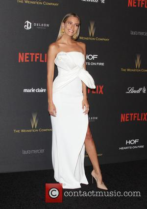 Renee Bargh - The Weinstein Company & Netflix 2016 Golden Globe After Party held at the Beverly Hilton Hotel at...