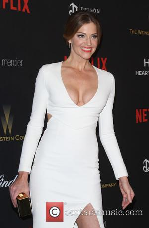 Tricia Helfer - The Weinstein Company & Netflix 2016 Golden Globe After Party held at the Beverly Hilton Hotel at...