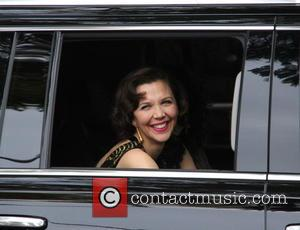 Maggie Gyllenhaal - The 73rd Golden Globe Awards - Outside Arrivals at beverly hills, Golden Globe Awards - Beverly Hills,...