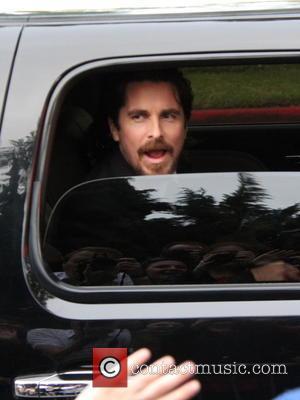 Christian Bale - The 73rd Golden Globe Awards - Outside Arrivals at beverly hills, Golden Globe Awards - Beverly Hills,...