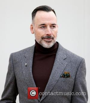 David Furnish - Burberry Show, London Collections Men, Autumn Winter 2016 - London, United Kingdom - Monday 11th January 2016