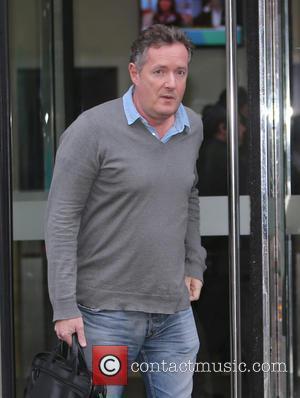 Piers Morgan - Piers Morgan outside ITV Studios - London, United Kingdom - Monday 11th January 2016