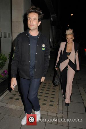 Nick Grimshaw - London Collections Men AW16 closing dinner hosted by GQ editor Dylan Jones and LCM Ambassadors held at...