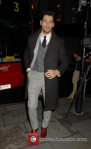 David Gandy - London Collections Men AW16 closing dinner hosted by GQ editor Dylan Jones and LCM Ambassadors held at...