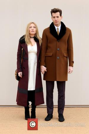 Mark Ronson , Josephine de La Baume - London Collections Men Autumn/Winter 2016 - Burberry - Arrivals - London, United...