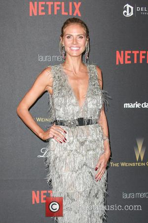 Heidi Klum - The Weinstein Company and Netflix 2016 Golden Globes After Party at the Beverly Hilton Hotel at Beverly...