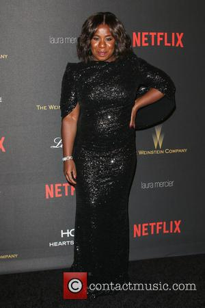 Uzo Aduba - The Weinstein Company and Netflix 2016 Golden Globes After Party at the Beverly Hilton Hotel at Beverly...