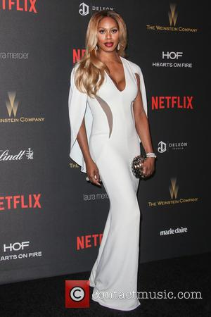 Laverne Cox - The Weinstein Company and Netflix 2016 Golden Globes After Party at the Beverly Hilton Hotel at Beverly...