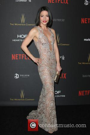 Emmanuelle Vaugier - The Weinstein Company and Netflix 2016 Golden Globes After Party at the Beverly Hilton Hotel at Beverly...