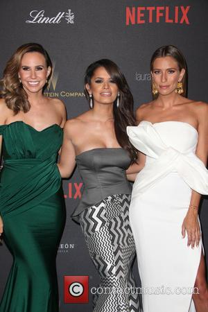 Keltie Knight, Rocsi Diaz and Renee Bargh