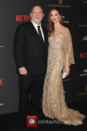Harvey Weinstein , Georgina Chapman - The Weinstein Company and Netflix 2016 Golden Globes After Party at the Beverly Hilton...