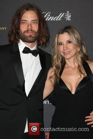 Christopher Backus and Mira Sorvino