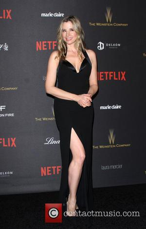 Mira Sorvino - The Weinstein Company & Netflix 2016 Golden Globe After Party held at the Beverly Hilton Hotel at...