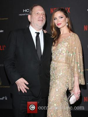Harvey Weinstein , Georgina Chapman - The Weinstein Company & Netflix 2016 Golden Globe After Party held at the Beverly...