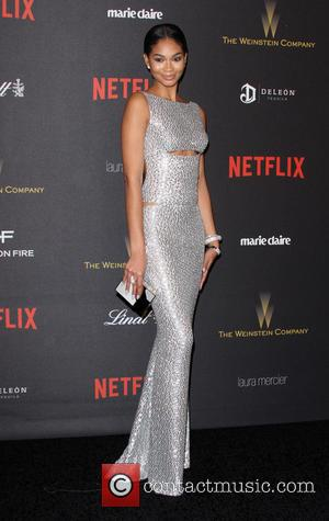Chanel Iman - The Weinstein Company & Netflix 2016 Golden Globe After Party held at the Beverly Hilton Hotel at...