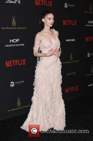 Rooney Mara - The Weinstein Company & Netflix 2016 Golden Globe After Party held at the Beverly Hilton Hotel at...