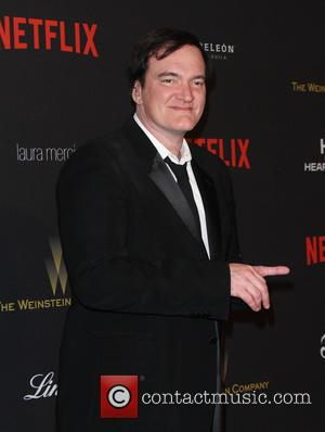 Quentin Tarantino - The Weinstein Company & Netflix 2016 Golden Globe After Party held at the Beverly Hilton Hotel at...