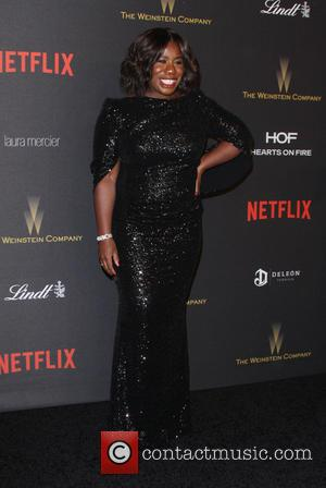 Uzo Aduba - The Weinstein Company & Netflix 2016 Golden Globe After Party held at the Beverly Hilton Hotel at...