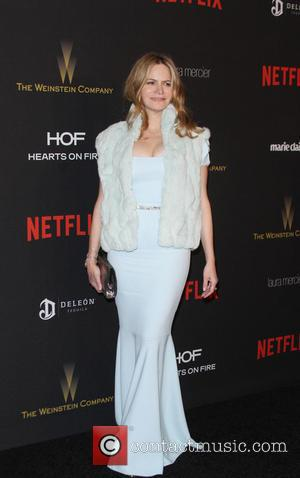 Jennifer Jason Leigh - The Weinstein Company & Netflix 2016 Golden Globe After Party held at the Beverly Hilton Hotel...