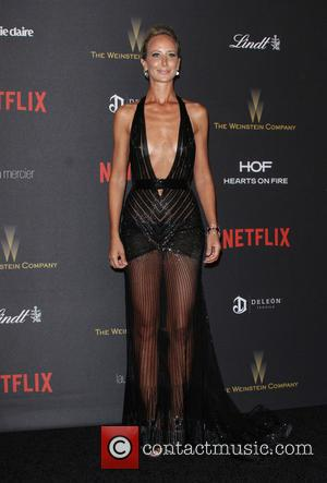 Lady Victoria Hervey - The Weinstein Company & Netflix 2016 Golden Globe After Party held at the Beverly Hilton Hotel...