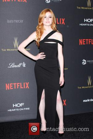 Katherine McNamara - The Weinstein Company & Netflix 2016 Golden Globe After Party held at the Beverly Hilton Hotel at...