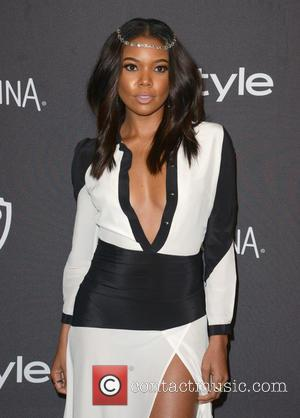 Gabrielle Union - InStyle and Warner Bros 73rd Annual Golden Globes after party at the Beverly Hilton Hotel at Beverly...