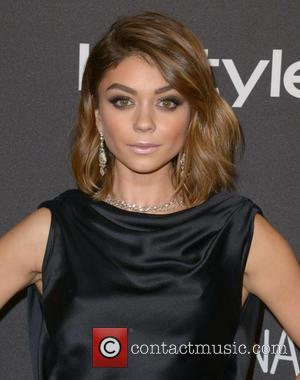 Sarah Hyland - InStyle and Warner Bros 73rd Annual Golden Globes after party at the Beverly Hilton Hotel at Beverly...