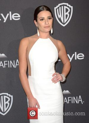 Lea Michele - InStyle and Warner Bros 73rd Annual Golden Globes after party at the Beverly Hilton Hotel at Beverly...