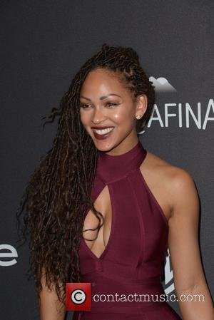 Meagan Good - InStyle and Warner Bros 73rd Annual Golden Globes Post-Party at the Beverly Hilton Hotel at Beverly Hilton...