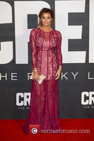 Jessica Wright - The European Premiere of 'Creed'  held at the Empire Leicester Square - Arrivals at Empire Leicester...