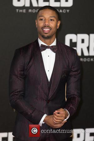 Michael B. Jordan - The European Premiere of 'Creed'  held at the Empire Leicester Square - Arrivals at Empire...
