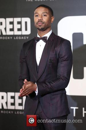 Michael B. Jordan - Creed The Rocky Legacy UK premiere held at the Empire - Arrivals - London, United Kingdom...