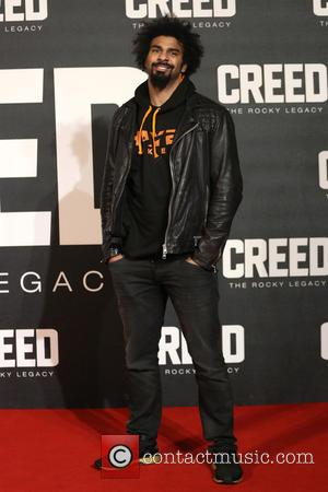 David Haye - Creed The Rocky Legacy UK premiere held at the Empire - Arrivals - London, United Kingdom -...